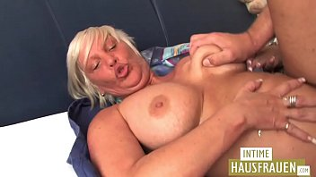 Blond Milf with Big Boobs