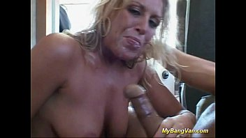 Fucked in my bang van hard sex