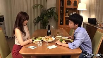 boy and hot girl have dinner.....