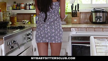 MyBabySittersClub - Hot BabySitter Becomes Full... | Video Make Love