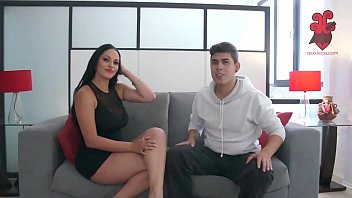 Axxxteca: Cuban hot wife is fucked by younger dude in front of her husband. Cristal Caraballo. Spiff
