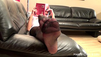 Mature stocking feetplay