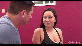 Sexy Cheating Teen Wife With Big Natural Tits Karlee Grey Fucked To Orgasm By Her Personal Trainer