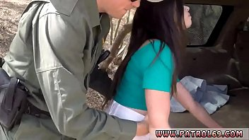 Cop search fuck and fake police officer hotel Pale Cutie Banging on