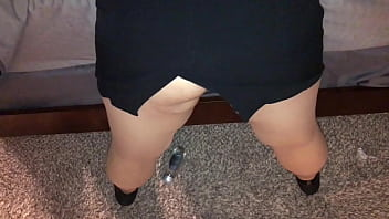 Thick MILF being fucked in pantyhose HD