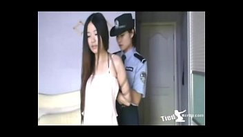 Beautiful girl get tied up by police - http://tiedherup.com