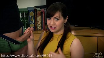 Erotic magic - Librarian becomes succubus and drains you - starring tammie madison