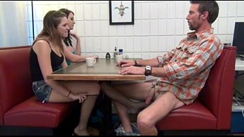 Footjob under table video Cialis porn tube - buy cialis daughter gives footjob and bj to not her dad under the table porn tube