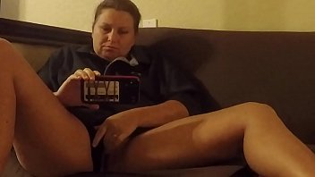 Glass Friend helps out when I get horny watching porn
