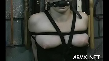 In nature's garb cuties love the extreme bondage porn on cam