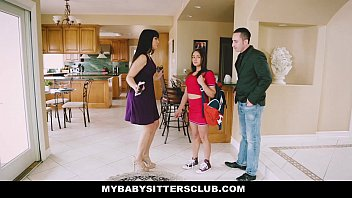 MyBabySittersClub - Baby Sitter Gets A Threesome On The Job  #12514