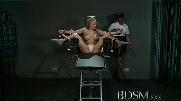 BDSM XXX Slave girl with massive breasts gets it hard with orgasm preview image