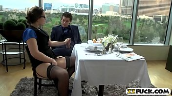 Curvy Office Whore Pounded In Restaurant