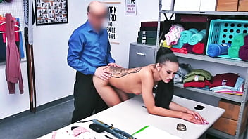 Gia Vendetti Have To Fuck Shop Owner Otherwise He Will Call Police