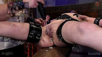 Penis extreme restraints Bound orgasms torture rack urge incontinence