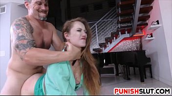 Do girls like choking on dick - Samantha hayes restricted and gets fucked deep