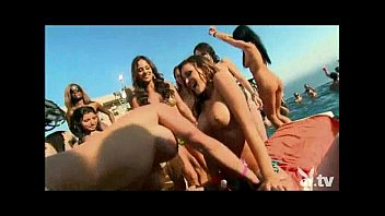 Naked playboy centerfolds pics Pool party with 200 nude chicks