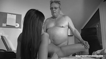 Senior Citizen Struggling With Horny Boss