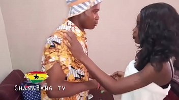 MADAM GOT FUCKED BY HOUSE BOY - GHANA BANG TV