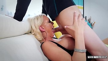 Perfect Wet Blowjob and Deepthroat with Hot blonde Kenzie Taylor - Mark White