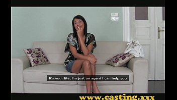 Casting - Brunette milf with a body to die for video