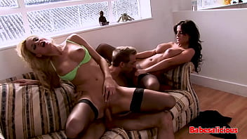 Babesalicious – Black Angelika In Hot 3Some