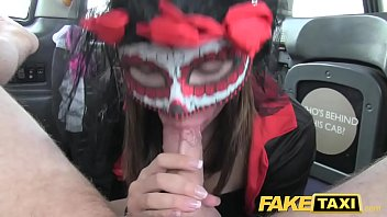Fake Taxi girl in mask gets fucked in the ass after bf leaves her thumbnail