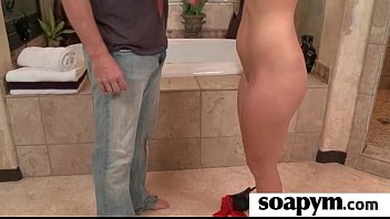 AMAZING body in a hot soapy massage 12