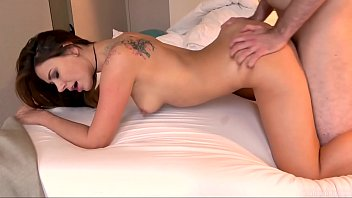 Ani Blackfox fu cked hard and gets mouth full  ets mouth full of cum