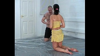 Mixed Oil Wrestling - 022 - Yellow Peril Samantha
