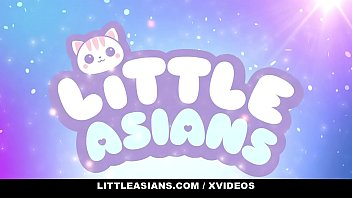 LittleAsians - Petite Asian Lets A Big Dick Cum On Her Small Tits