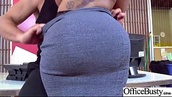 (Mary Jean) Round Huge Tits Office Girl Enjoy Hard Intercorse clip-19