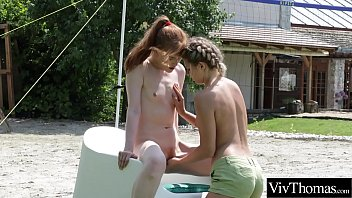 Stunningly hot lesbians show off their gorgeous bodies as they fuck each other