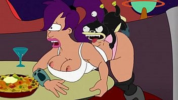 FUTURAMA Lila is fucked by Nibbler