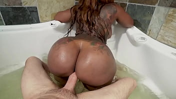 Victoria Cakes Ebony Big Ass Cleans Out Plumber Preston Parker's Pipes