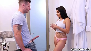 BANGBROS - Step Brother Goes Deep in Aaliyah Hadid's Ass