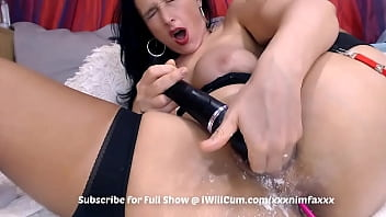 Thick Mom With Bubble Booty Has Some Intense Gushing Creamy Squirt Orgasms