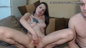 she just cant stop masturbating....