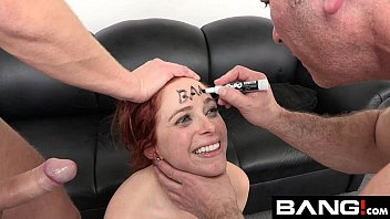 Audition fetish Penny pax takes two cocks at her bang audition