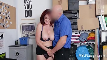MILF Accommodates Horny Cop In Her Pussy After Getting Caught- Andi James