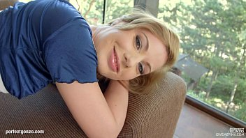 Givemepink Marylin Blond chooses her pleasure from five giant dildos