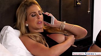 Dirty wife Cherie DeVille goes hotwifing for a big dick - Naughty America