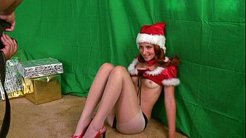 Pantyhose wives photos Santas sexy helper