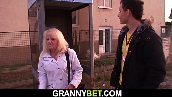 Hairy 80 years old blonde