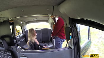 Fake Taxi Blonde MILF Holly Kiss and her Great Tits Fucked Roughly