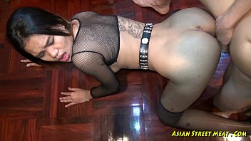 Suck that woman My cock deep in her asian throat