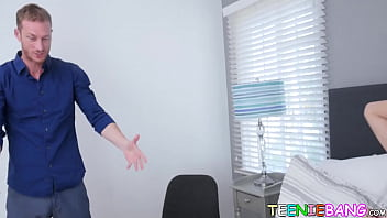 Teenage Busty Asian Loves Her Horny Stepdads Thick Cock
