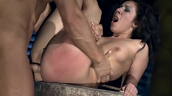 Super sexy Patricia loves, when her ass drilled hard.