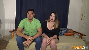 Young Marisol loves sex with her unexperienced boyfriend