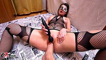 CoverHorny Brunette Hardcore Fisting and Masturbate Pussy Sex Toys